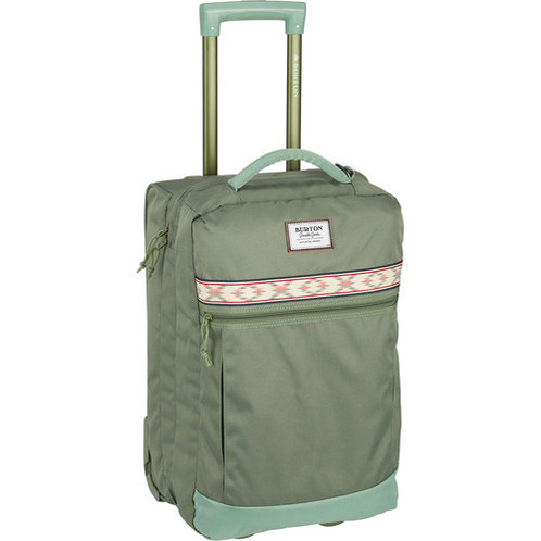 39b9daf286 Burton Overnighter Roller Travel Bag, Clover Ripstop