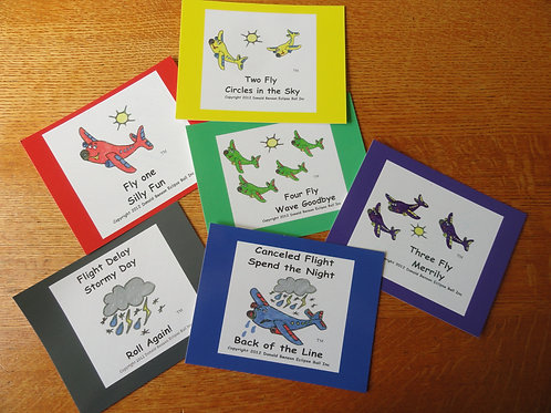 Airplane Game Activity Cards