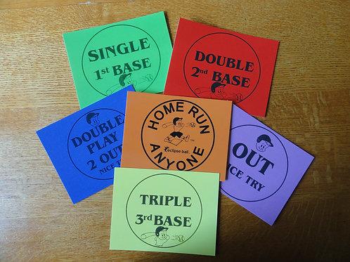 Home Run Anyone pocket cube game cards