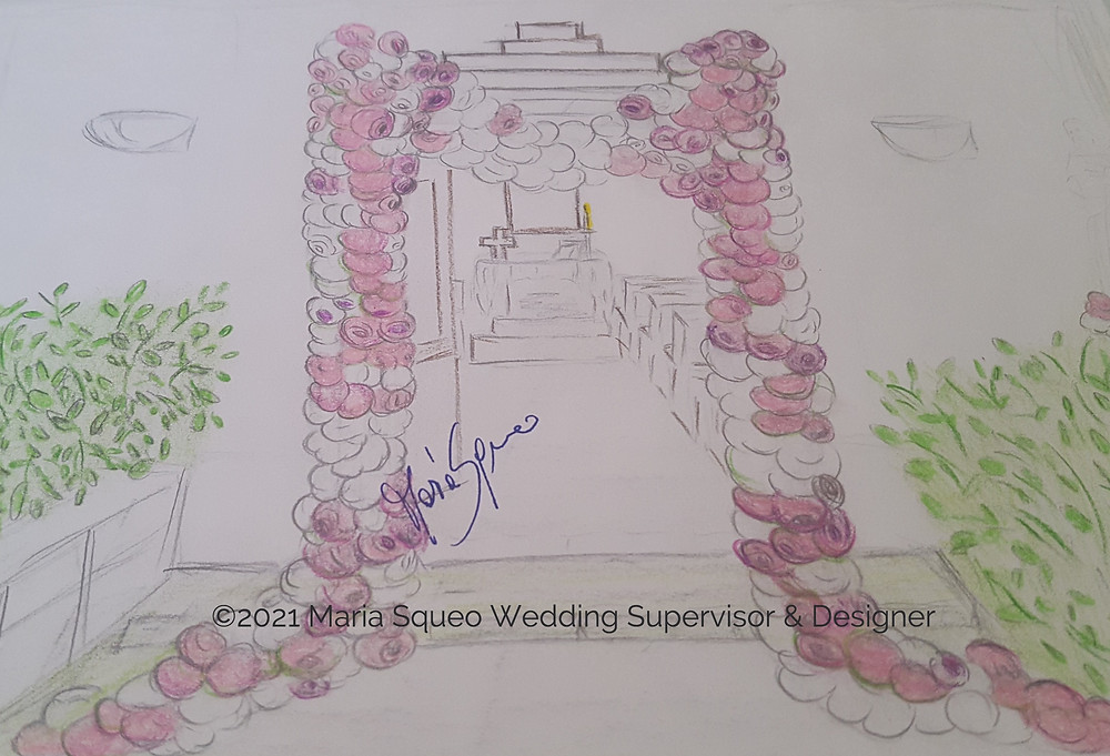 Maria Squeo Wedding Supervisor & Designer
