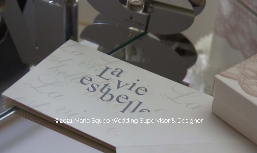 Maria Squeo Wedding Suprvisor & Designer