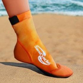 Orange Sunset Sand Socks