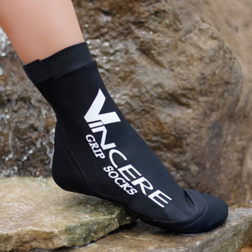 Black Grip Socks