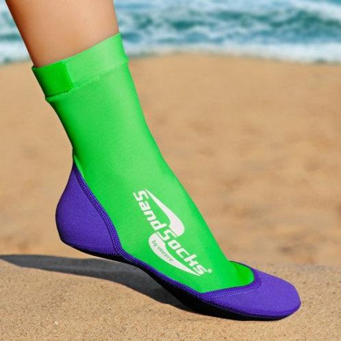 Lime Sand Socks