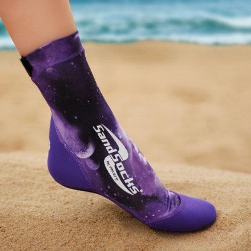 Purple Galaxy SandSocks