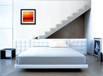 La decoración y el aire acondicionado en el dormitorio