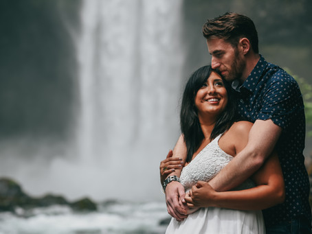 Whistler // Squamish beautiful engagement session.