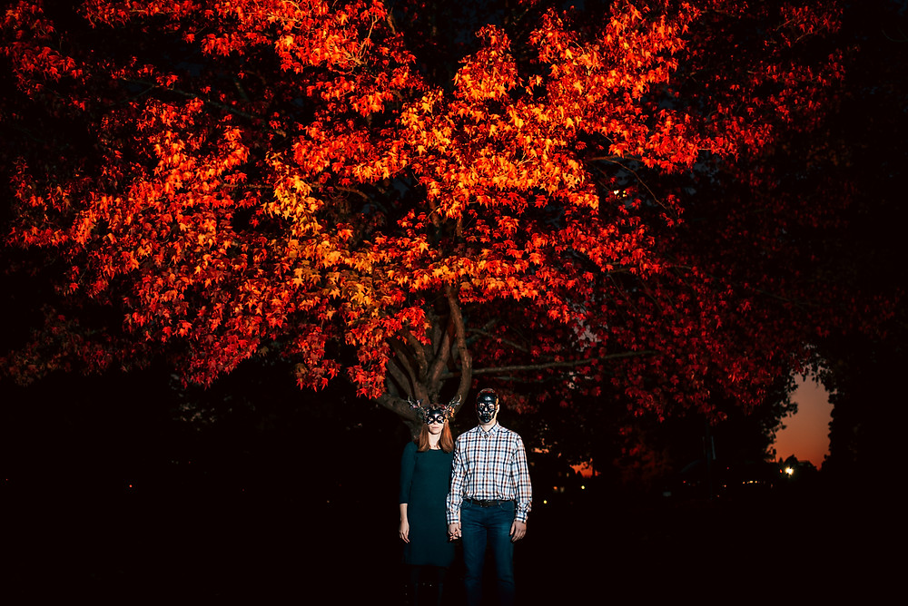 Halloween Engagement Session, Vancouver Wedding Photographer