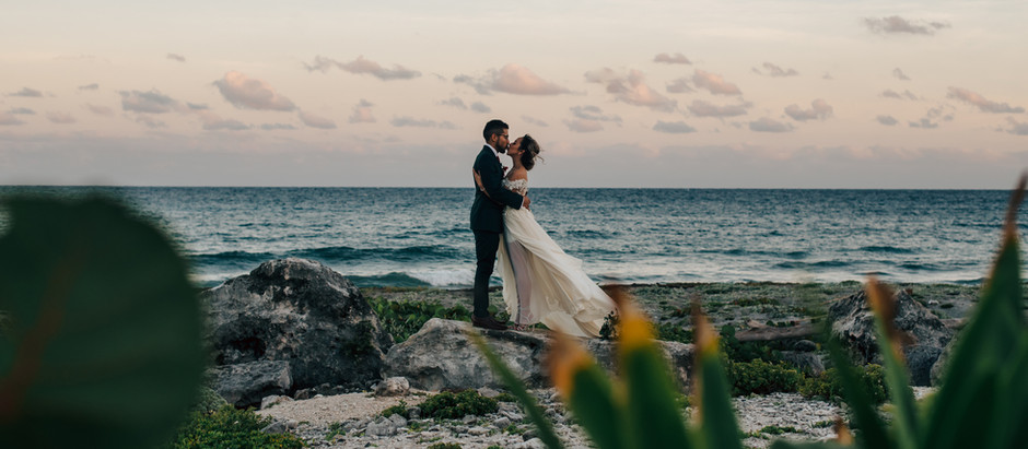 Israel & Aremi's Akumal, Mexico Wedding