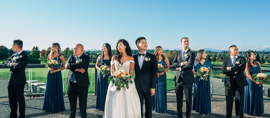 Linda and Branden's perfect summer wedding at Northview Country Golf Club