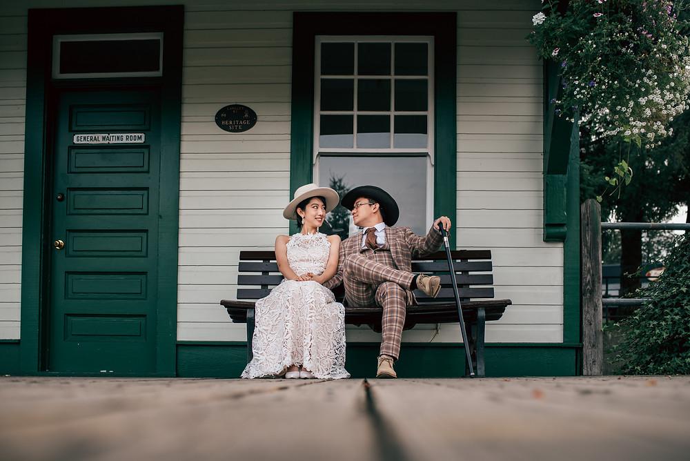 Fort Langley National Historical Site Wedding