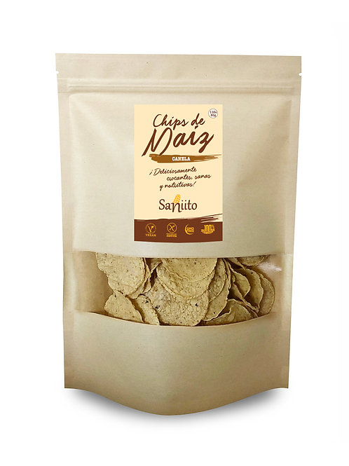 Chip de maiz sabor canela - 80 grs (130 unidades)