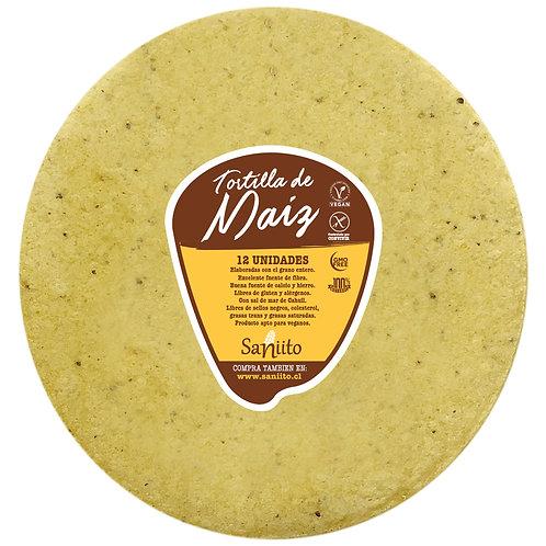 Tortilla de Maíz  - 21 cms (12 unidades)