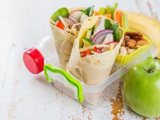 3 recetas de wraps saludables