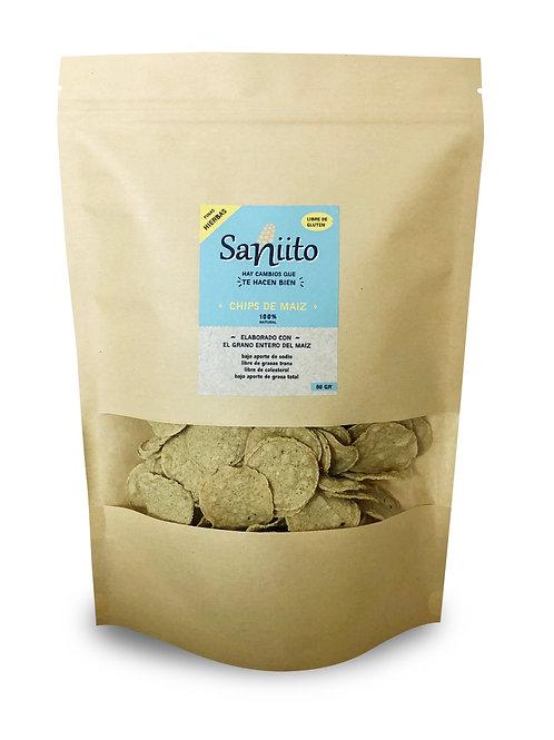 Chip de maiz sabor finas hierbas - 80 grs (130 unidades)