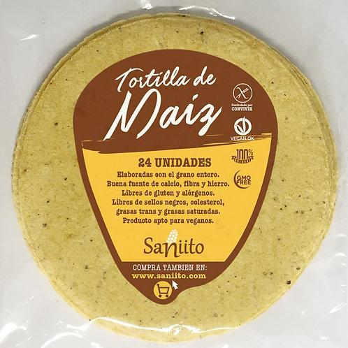 Tortilla de maíz taquera Mexicana (12 unidades)