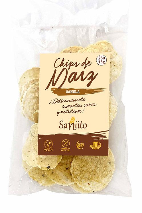 Chip de maiz sabor canela (15 grs - 25 unidades)