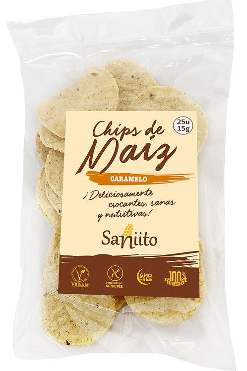 Chips de maiz sabor caramelo (15 grs. - 25 unidades)