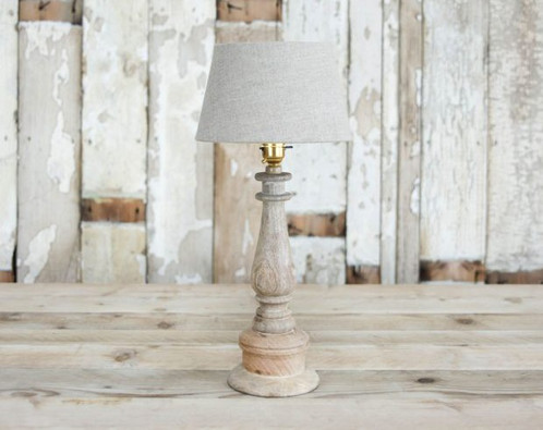 Our Charming Small Mango Wood Table Lamp Is Handmade From Sustainable Mango  Wood In India, Making It Both Eco Friendly And Fair Trade.