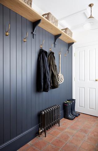 Dark Boot Room Interior Design