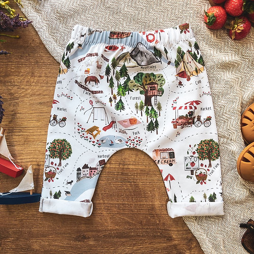 A Very English Summer 2.0 Cropped Leggings