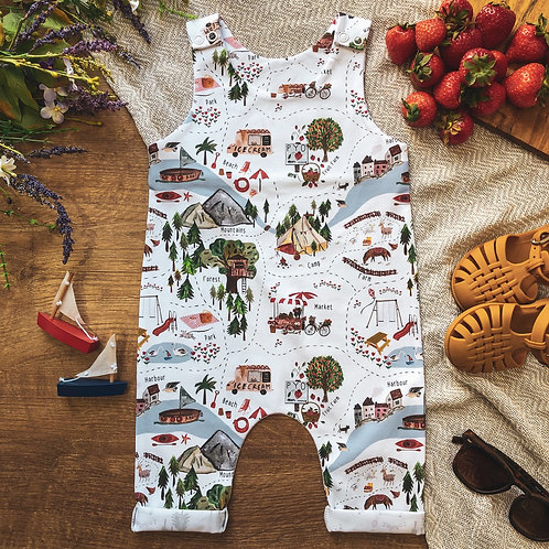 A Very English Summer 2.0 Cropped Romper