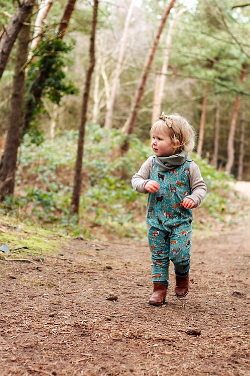 Woodland Stroll Long Romper