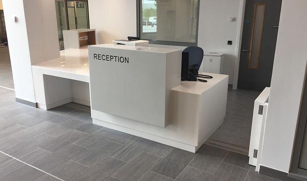 Reception Desk Omagh Hospital. 2 JPG.JPG