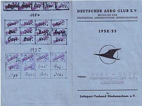 Abb. 13: Mitgliederausweis des DAeC