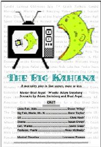Big Kahuna theatrical program
