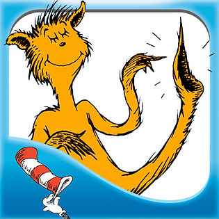 A Dr. Seuss cat from The Foot Book
