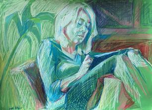 Quarantine Portrait Drawing