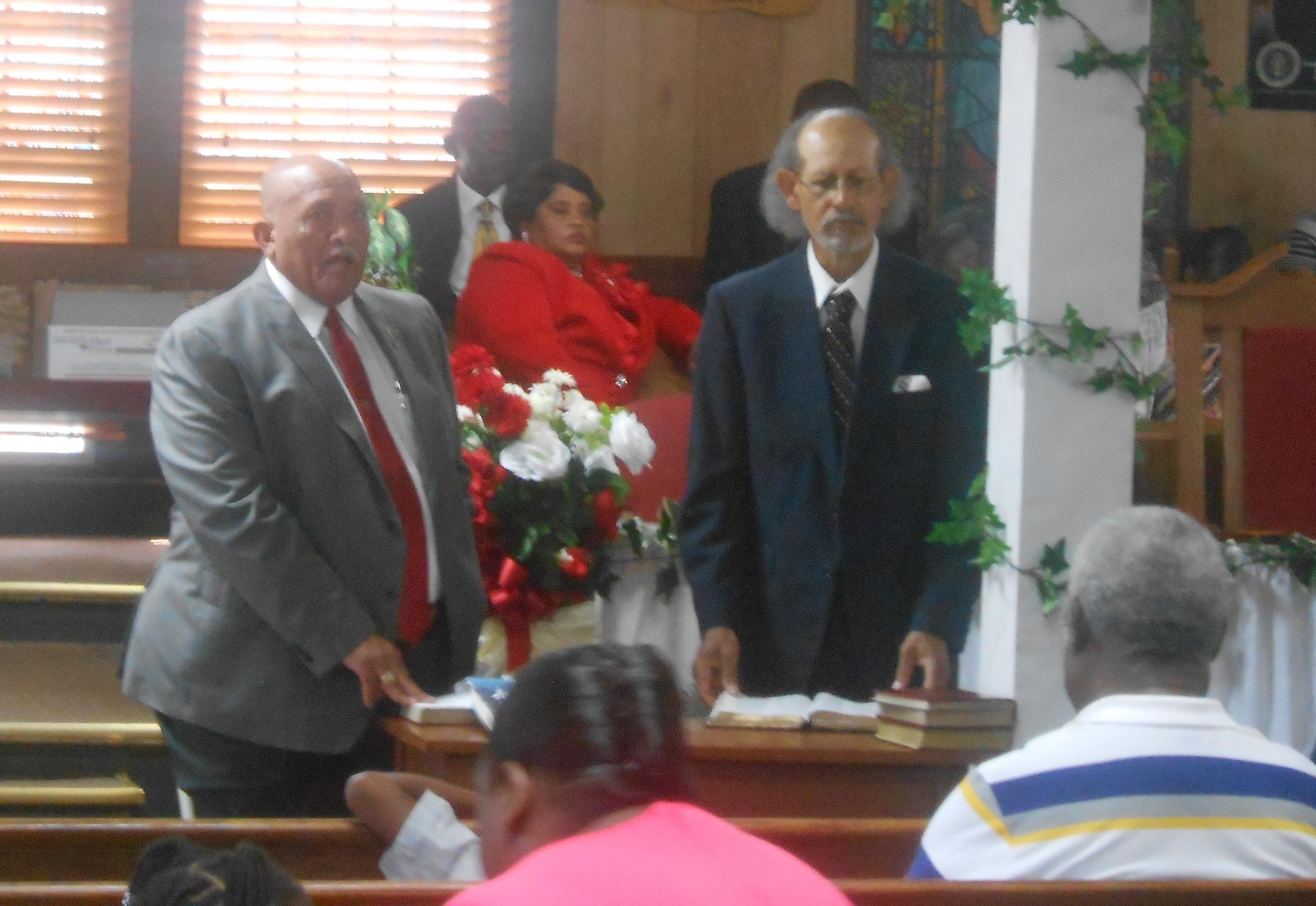 Pastor & Wife 14th Anniversary 6-26-2016 (1)