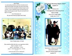 Pastor & Wife's 15th Anniversary 6-25-2017 (1)