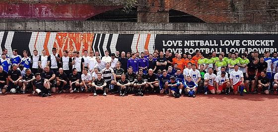 Alesco DA host charity football tournament in aid of CWF