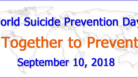 World Suicide Prevention Day: Making our mark