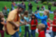 outdoor children's concert with eric ode