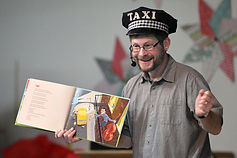 author eric ode taxi man