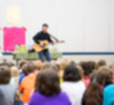 school author visit assembly