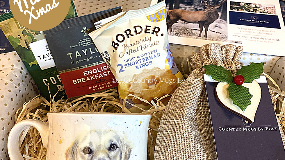 Golden Retriever Mug Gift Hamper