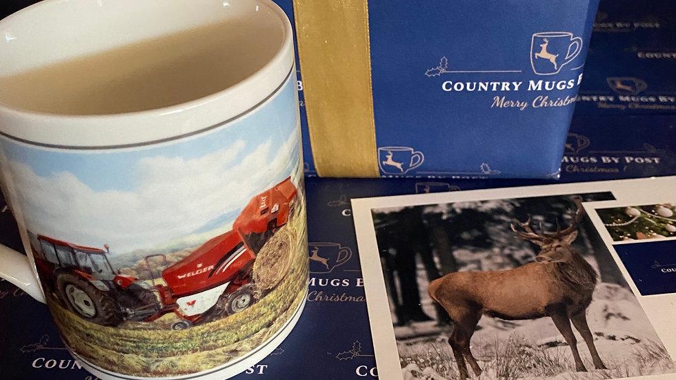 Tractor & Baler Mug