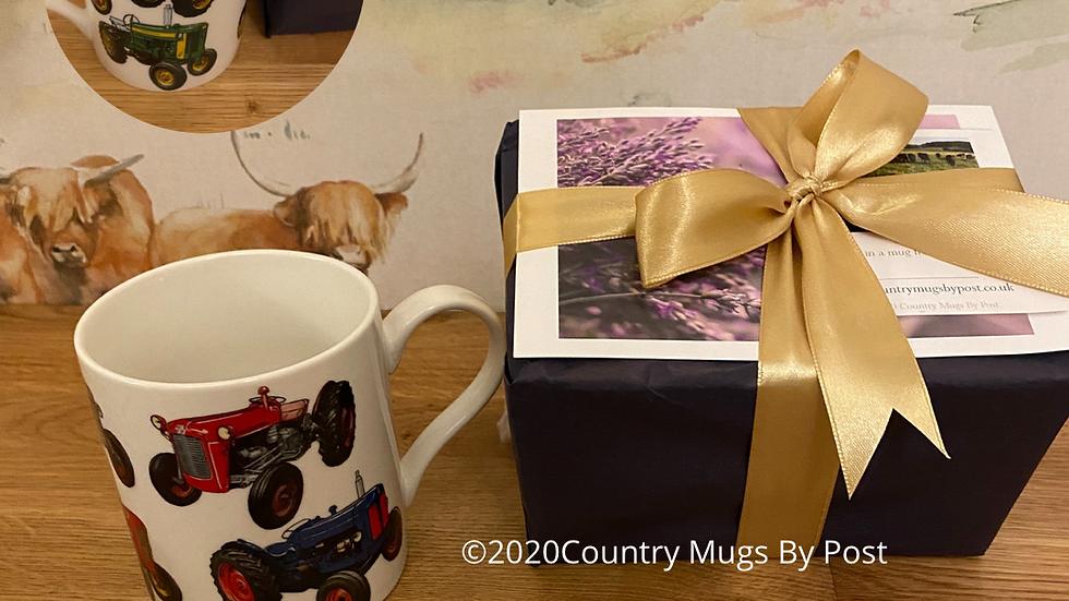 'Classic Tractor' Mug Single Mug Gift