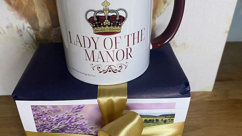 NEW...'Lady of the Manor' Mug
