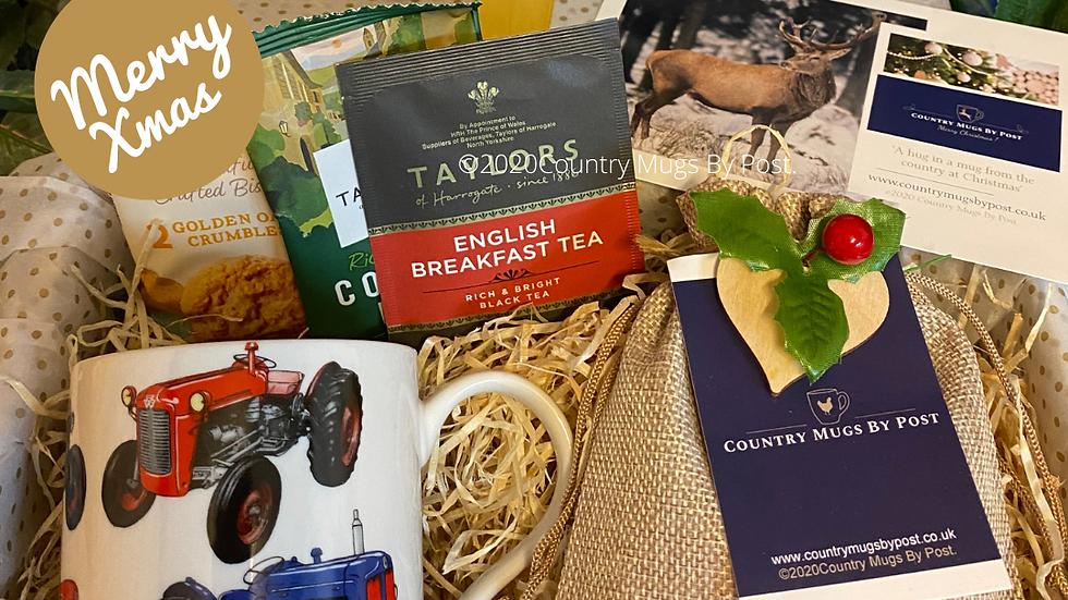 'Tractor' Mug Hamper Gift Set