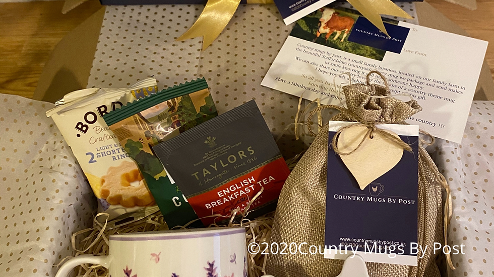 'Lavender Fields' Mug Gift Hamper