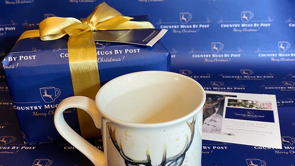 'Sheridan Stag' Single Mug Gift