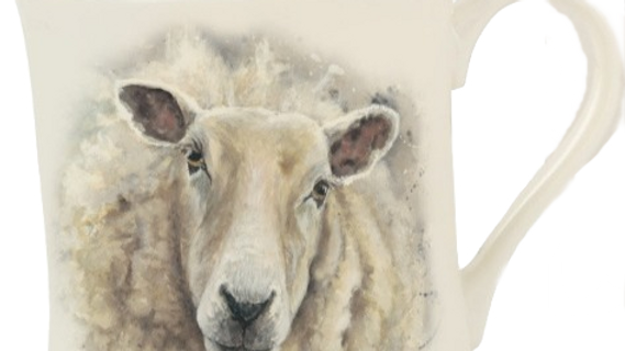 'Shelia' Sheep Mug