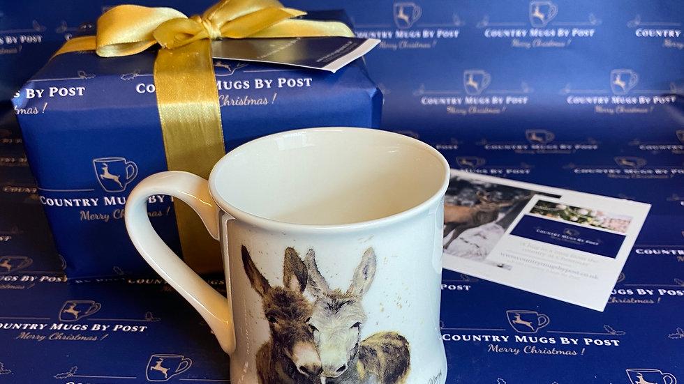 'Bree Merryn 'Jack  & Diane' Donkey Mug