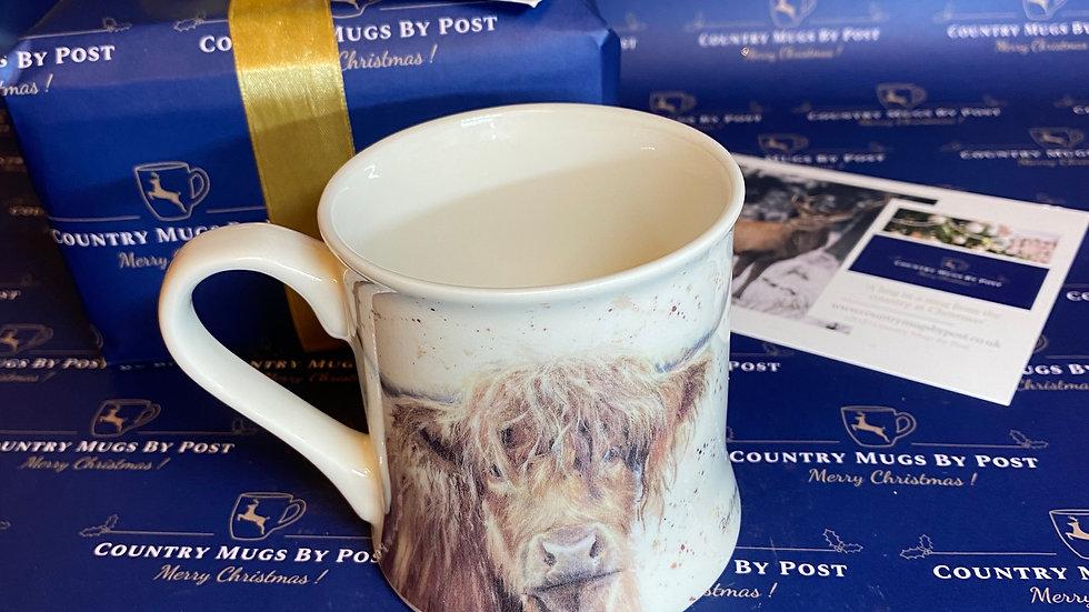 Bree Merryn 'Bonny' Highland Cow Mug