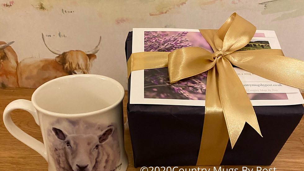 'Shelia  Sheep' Single Mug Gift